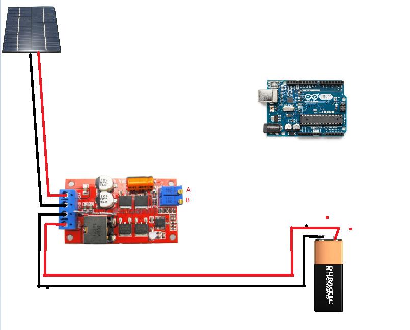 Arduino solar powered